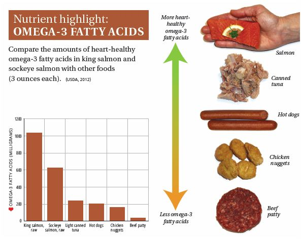 SALMON-nutrient highlight omega3 fatty acid